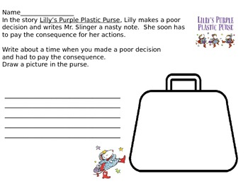 Lilly's Purple Plastic Purse/ Consequences