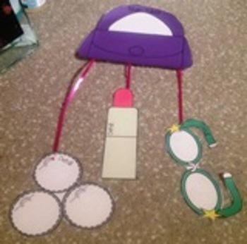 Lilly's Purple Plastic Purse Graphic Organizer