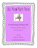 Lilly's Purple Plastic Purse Literacy Unit