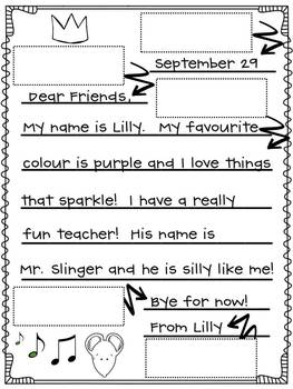 Lilly's Purple Plastic Purse Literacy Unit{Inferring & Letter Writing}