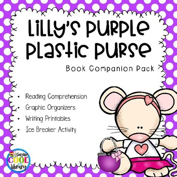 Lilly's Purple Plastic Purse - Printables and Activities