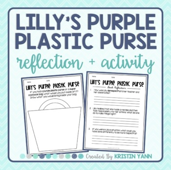 Lilly's Purple Plastic Purse - Reflection and Activity (Respect)