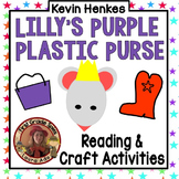 Lilly's Purple Plastic Purse Sequencing Craftivity CCSS Reading Literature