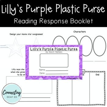 Lilly's Purple Plastic Purse Student Activity Mini-book