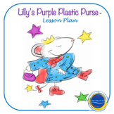 Lilly's Purple Plastic Purse - by Henkes LP K-2