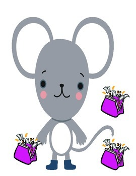 Lilly's mouse pretty Purse counting number sense ESL COMMON CORE
