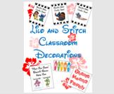 Lilo and Stitch Decor (Hawaiian)
