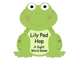 Lily Pad Hop Fry Sight Word Game {FREEBIE}