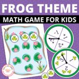 Frog Math Game