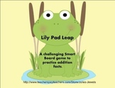 Lily Pad Leap Smart Board Addition Game