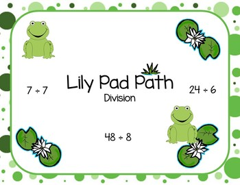 Lily Pad Path - Division Facts