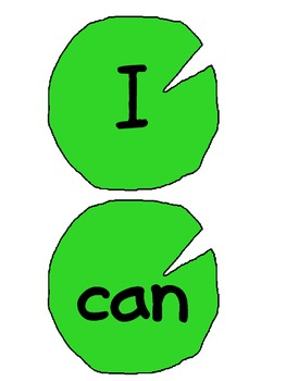 Lily Pad Sight Words