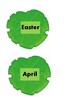 Lily Pad spring vocabulary