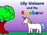 Lily Unicorn & the Rainbow – ESL Colors Reader, Worksheets