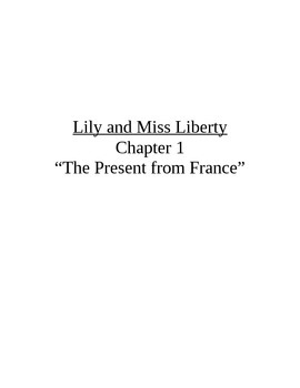 Lily and Miss Liberty Guided Reading Unit-F&P Level N