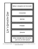Lily's Grouchy Day Story Element Activity FP Level J Fiction/Fantasy