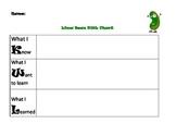 Lima Bean KWL Chart