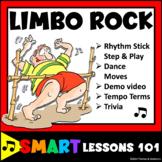 Limbo Rock Music Game: Dance Lesson Plans: Rhythm Stick Lesson: Movement Tempo
