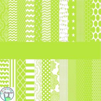 Lime Digital Paper