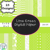 Lime Digital Paper Bundle