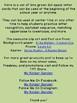 Lime Green Dot Apple Alphabet Letter Flashcards