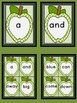 Lime Green Dot Apple  Dolch Pre-Primer Sight Word Flashcards and Posters