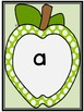 Lime Green Dot Apple  Dolch Pre-Primer Sight Word Flashcar