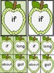 Lime Green Dot Apple Dolch Third Grade Sight Word Flashcar