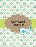 Lime Green and Blue BoHo Bird Work Based Learning (Georgia)