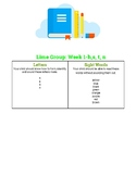 Lime Group-K Primary Phonics Book Week 1
