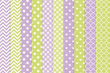 Lime & Lavender Vector Owls & Papers - Baby Owl Clipart, Owl Clip Art, Baby Owls