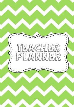 Lime Teacher Planner