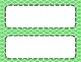 Lime Tile Classroom Labels
