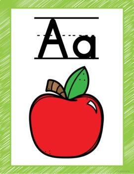 Lime and Teal Classroom Decor Bundle