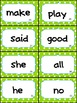 Lime and Turquoise Polka Complete Word Wall- HMH Journeys