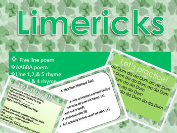Limerick Lesson for 2nd - 5th grade