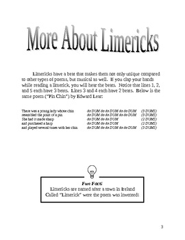 Limerick Student Workbook