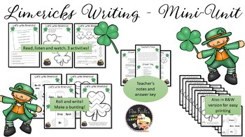 Limerick Writing - St Patrick's Day Activities