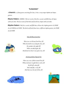 Limericks for Elementary Students