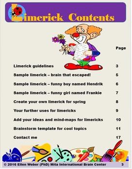 Limericks for Spring - Write for Fun!
