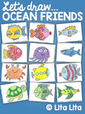 Let's Draw Ocean Friends