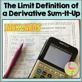 Limit Definition Sum It Up Activity Freebie