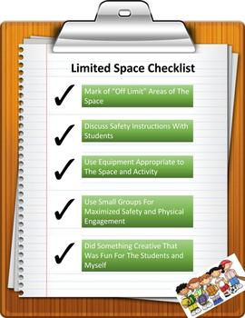 Limited Space Checklist