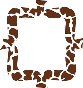 *Limited Time Freebie!* Animal Print Frames!