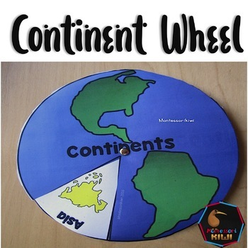 Continent Wheel: Learn the continents
