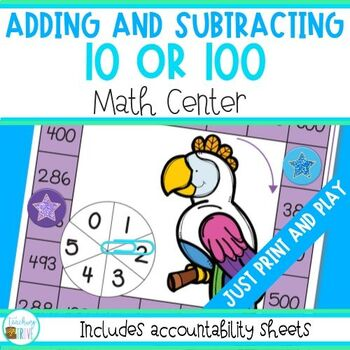 Adding or subtracting 10 or 100