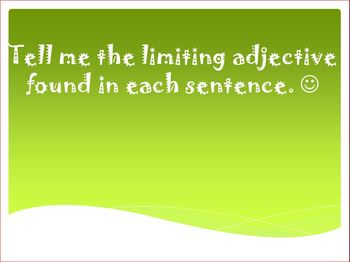 Limiting Adjectives