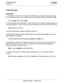 Limiting Adjectives Worksheet