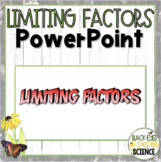 Limiting Factor and Carrying Capacity Squiggle Sheets---POWER POINT