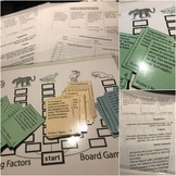 Limiting Factors Board Game